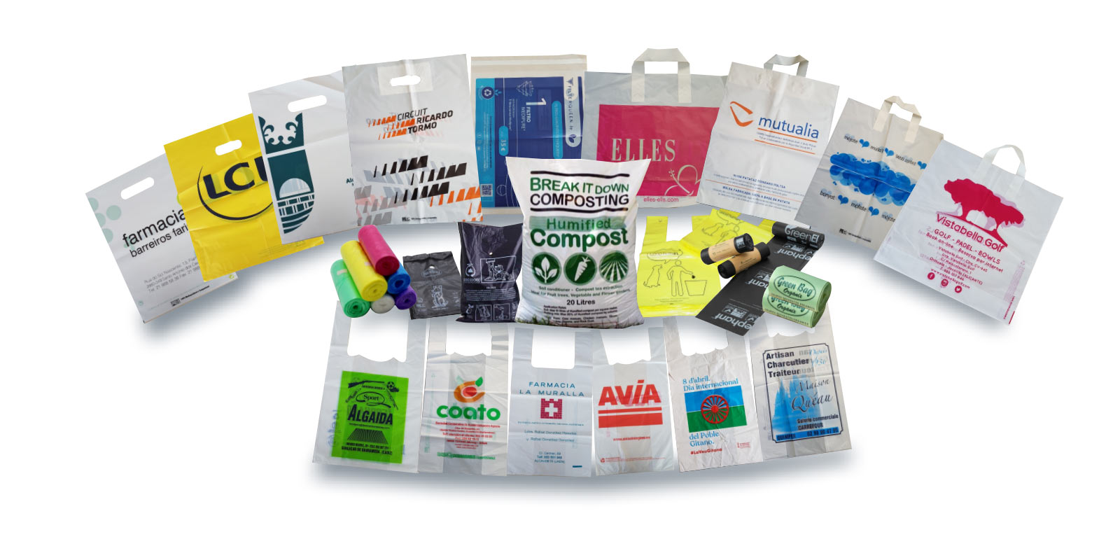 Arcoplas bolsas Biodegradables
